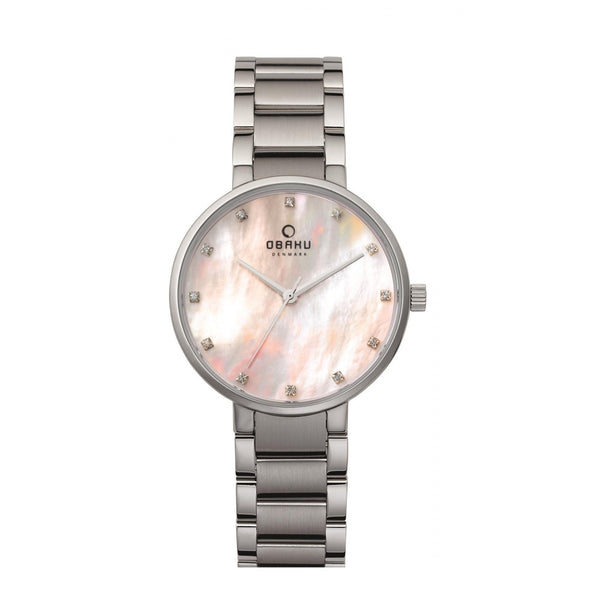 Obaku Glad Coral Women's Wristwatch