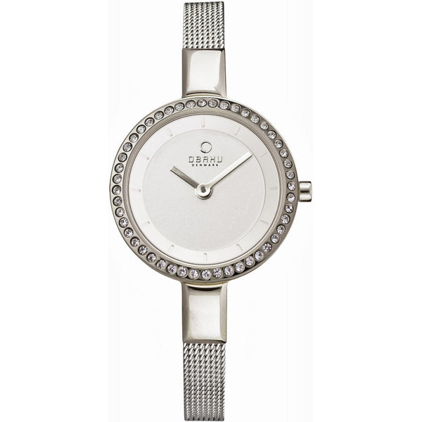 Obaku Siv Glimt Steel Women's Wristwatch