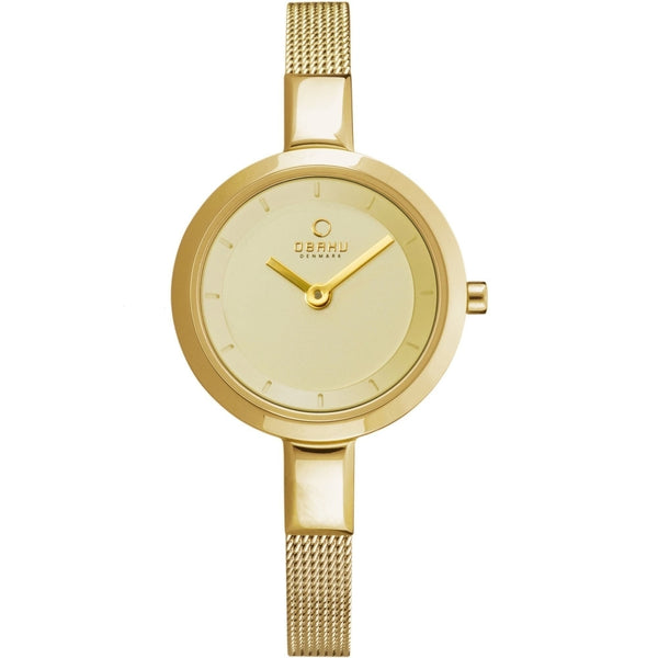 Obaku Siv Gold Women's Wristwatch - Stevens Jewellers Letterkenny Donegal