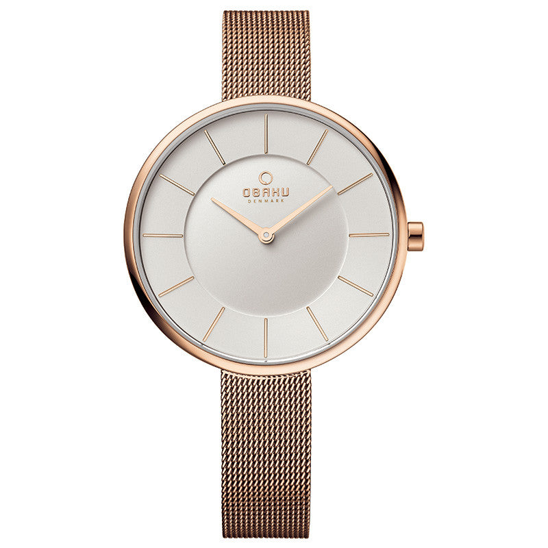 Obaku Sand Rose Women's Wristwatch - Stevens Jewellers Letterkenny Donegal