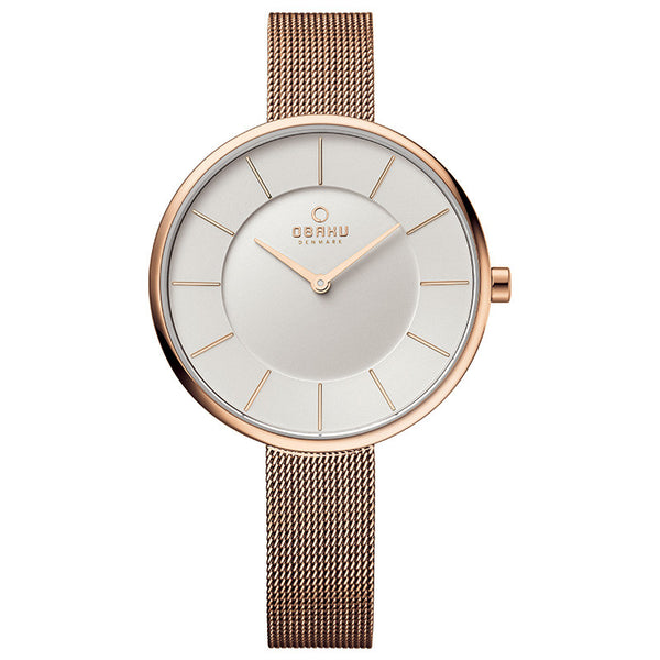 Obaku Sand Rose Women's Wristwatch