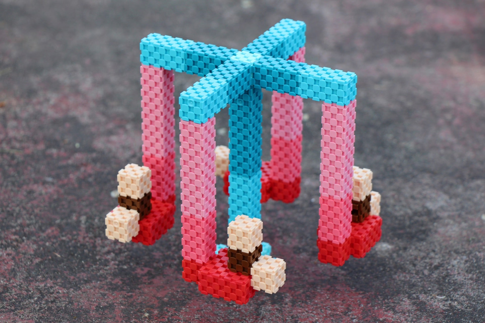carousel made with Lini cubes
