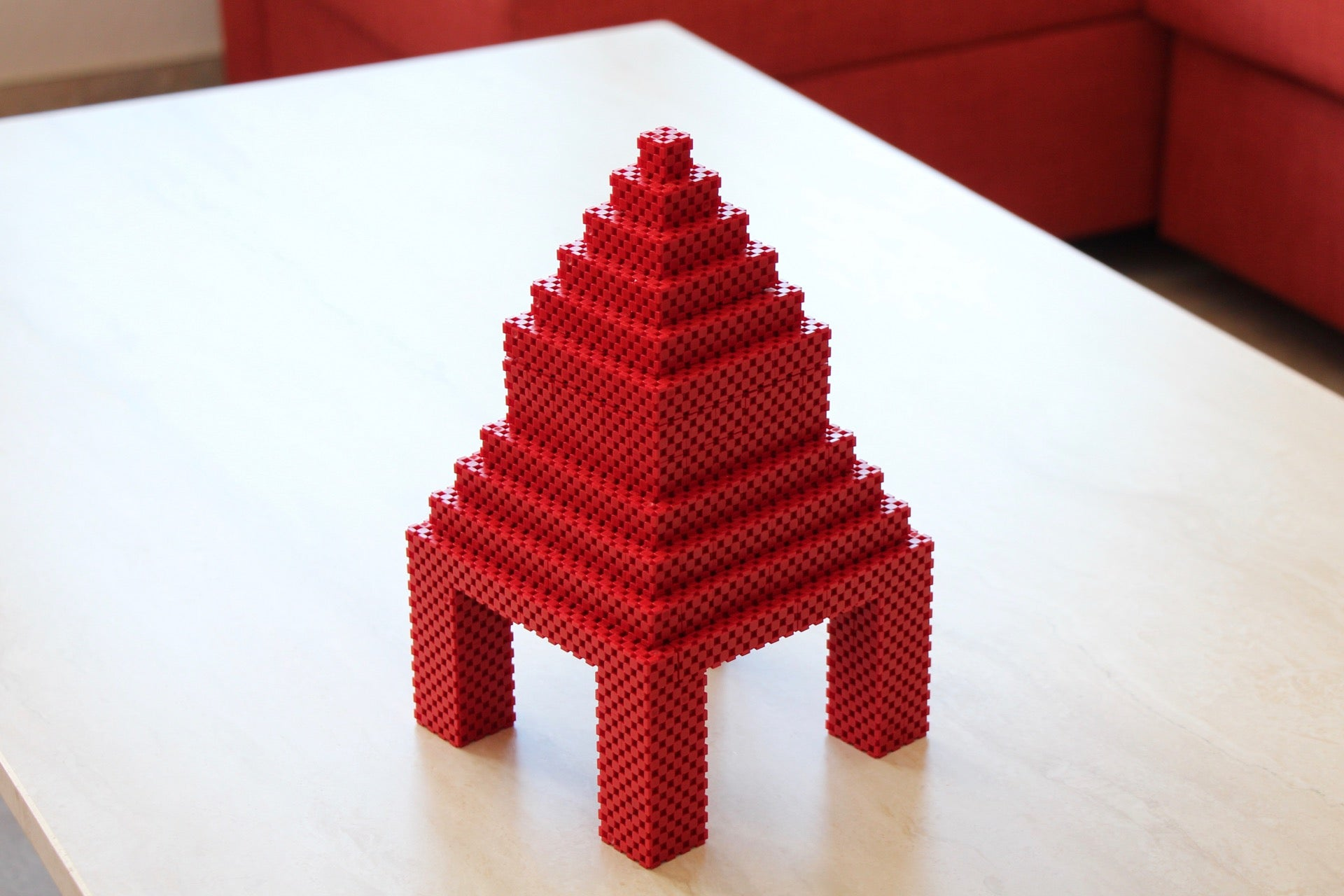 temple made with Lini cubes