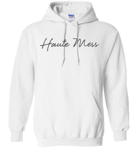 Haute Mess Gildan Heavy Blend Hoodie shirt - Zacaca Shop USA - 1