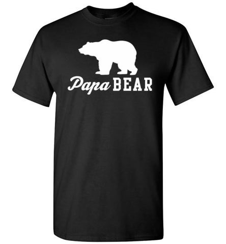 Papa Bear Gildan Short-Sleeve T-Shirt - Zacaca Shop USA - 1