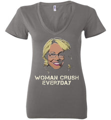 Drake Doris Burke - Woman Crush Everyday Ladies Deep V-Neck Shirt