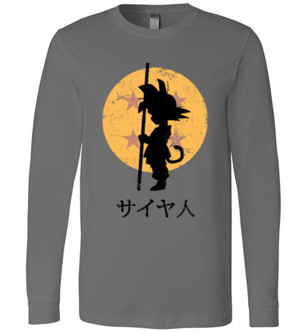 Looking for the Dragon Balls Canvas Long Sleeve T-Shirt
