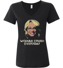 Drake Doris Burke - Woman Crush Everyday Anvil Ladies Featherweight V-Neck Shirt