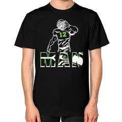 12th man Unisex T-Shirt (on man)