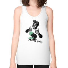 12TH PLANET IS MY Unisex Fine Jersey Tank (on woman)