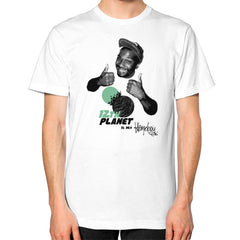 12TH PLANET IS MY Unisex T-Shirt (on man)