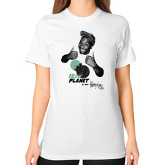 12TH PLANET IS MY Unisex T-Shirt (on woman)
