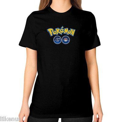 POKEMON GO UNISEX T-SHIRT (ON WOMAN) - Zacaca Shop USA - 1