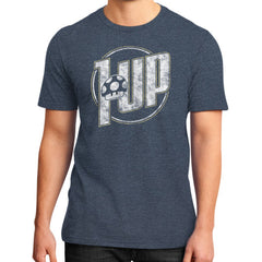 1 UP District T-Shirt (on man)