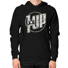 1 UP Hoodie (on man)