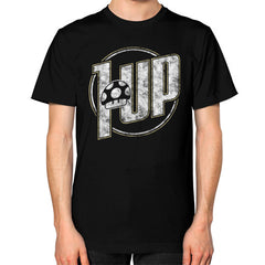 1 UP Unisex T-Shirt (on man)
