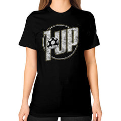 1 UP Unisex T-Shirt (on woman)