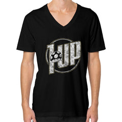 1 UP V-Neck (on man)