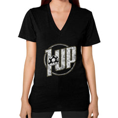1 UP V-Neck (on woman)