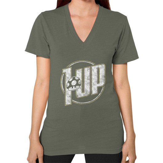 1 UP V-Neck (on woman) Lieutenant Zacaca Shop USA