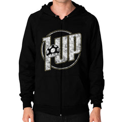 1 UP Zip Hoodie (on man)