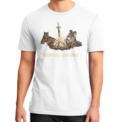 1 Year Anniversary! BIGPUMM GAMING  District T-Shirt (on man)