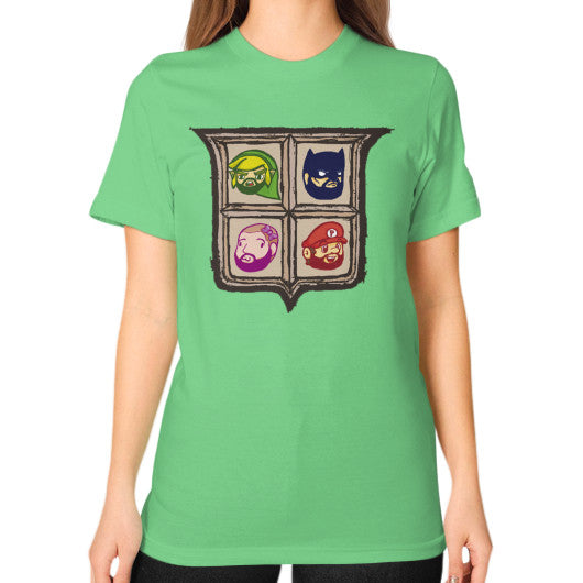 1 Year of Platnum Unisex T-Shirt (on woman) Grass Zacaca Shop USA