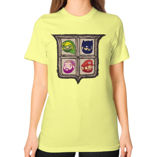 1 Year of Platnum Unisex T-Shirt (on woman) Lemon Zacaca Shop USA