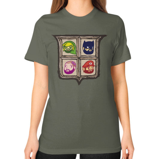1 Year of Platnum Unisex T-Shirt (on woman) Lieutenant Zacaca Shop USA