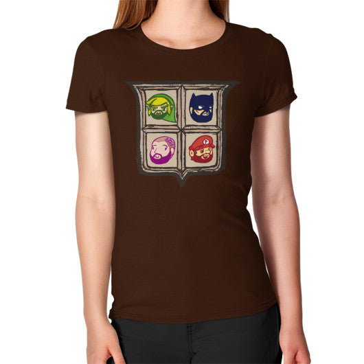 1 Year of Platnum Women's T-Shirt Brown Zacaca Shop USA