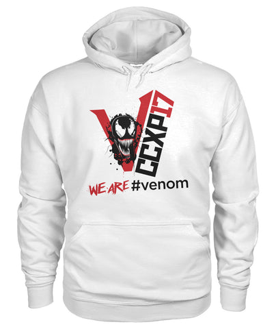 We are venom CCXP17 shirt Gildan Hoodie
