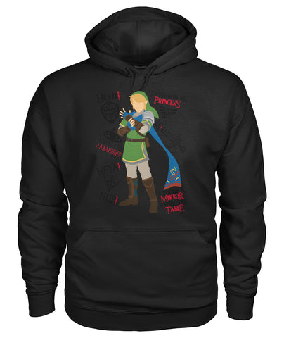 Princess mirror table shirt Gildan Hoodie
