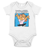 Someday a woman will be president Hillary Clinton Shirt For Kid - Zacaca Shop USA - 1