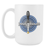 Pour house coffee Mug 15 oz Double Sided - Zacaca Shop USA - 2
