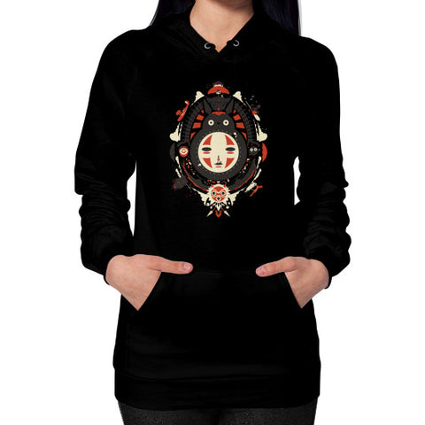 A New Wind Hoodie (on woman) Black Zacaca Shop USA