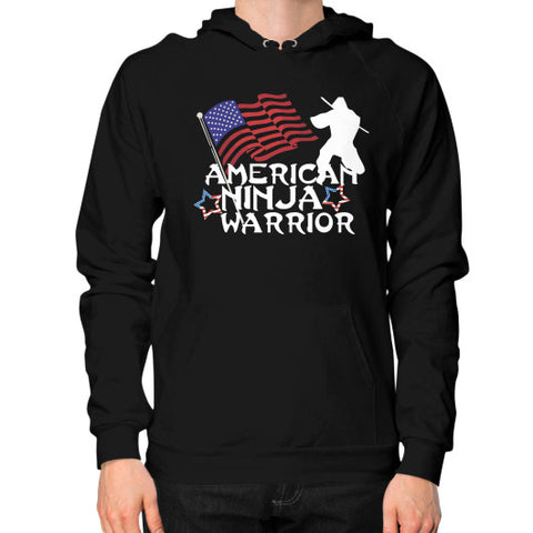 American Ninja Warrior Hoodie (on man) Shirt - Zacaca Shop USA - 1