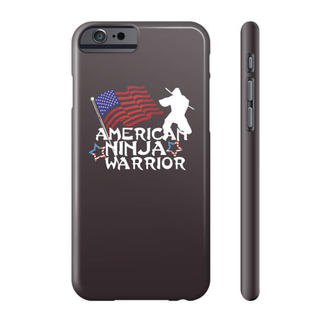 American Ninja Warrior Story Phone Case - Zacaca Shop USA - 2