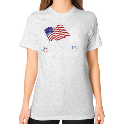 American Ninja Warrior Unisex T-Shirt (on woman) - Zacaca Shop USA - 2