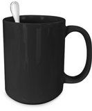 BACK THE BLUE MUG - 11oz - 15oz - Zacaca Shop USA - 4