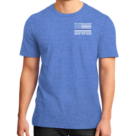 Back the Blue Police Don't make me give you back to the hood Shirt - Zacaca Shop USA - 2