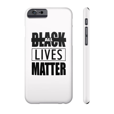 Black Lives Matter Phone Case - Fonts Black - Zacaca Shop USA - 2