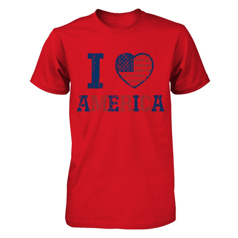 I Love American Apparel Short Sleeve Tee - Zacaca Shop USA - 1