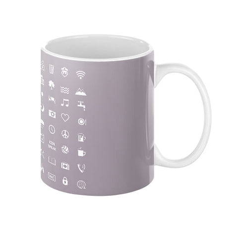 IconSpeak Coffee Mug - Zacaca Shop USA - 1