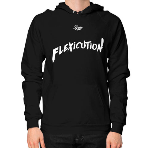 Flexicution Logic Hoodie (on man) Shirt - Zacaca Shop USA - 1