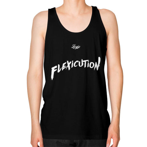 Flexicution Logic Unisex Fine Jersey Tank (on man) Shirt - Zacaca Shop USA - 1
