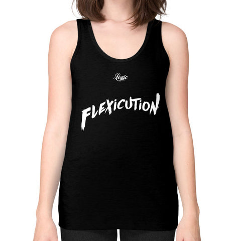 Flexicution Logic Unisex Fine Jersey Tank (on woman) Shirt - Zacaca Shop USA - 1