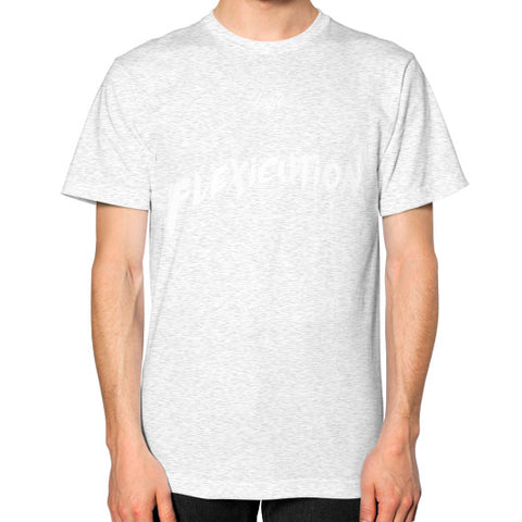 Flexicution Logic Unisex T-Shirt (on man) - Zacaca Shop USA - 2