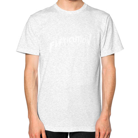 Flexicution Unisex T-Shirt (on man) - Zacaca Shop USA - 2