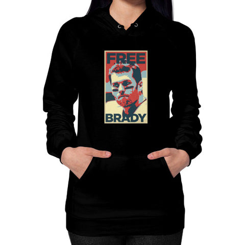 Free Brady Hoodie (on woman) Shirt - Zacaca Shop USA - 1