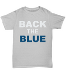 Back The Blue Unisex Tee shirt - Zacaca Shop USA - 9